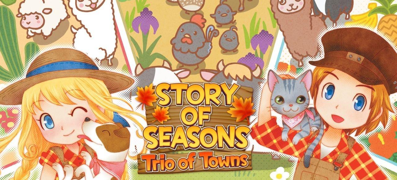 Story of Seasons: Trio of Towns (Simulation) von Nintendo