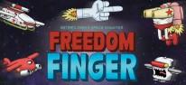 Freedom Finger: Das Mittelfinger-Raumschiff landet auch auf Switch