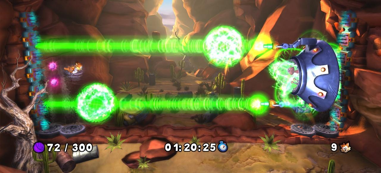 Bubsy: The Woolies Strike Back (Plattformer) von Billionsoft/Tommo/Accolade