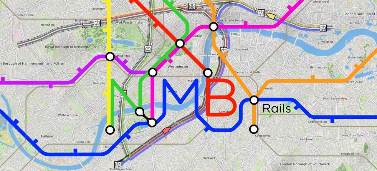 NIMBY Rails (Simulation) von Weird and Wry
