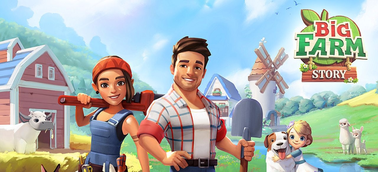 Big Farm Story (Simulation) von Goodgame Studios