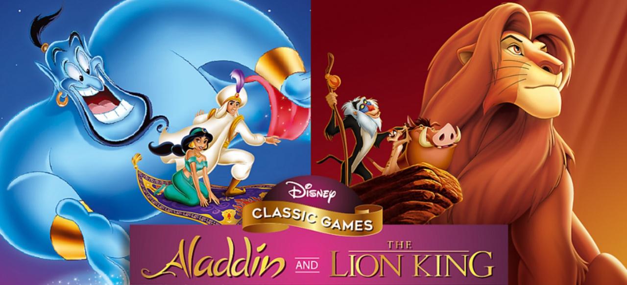 Disney Classic Games: Aladdin and The Lion King (Geschicklichkeit) von Disney