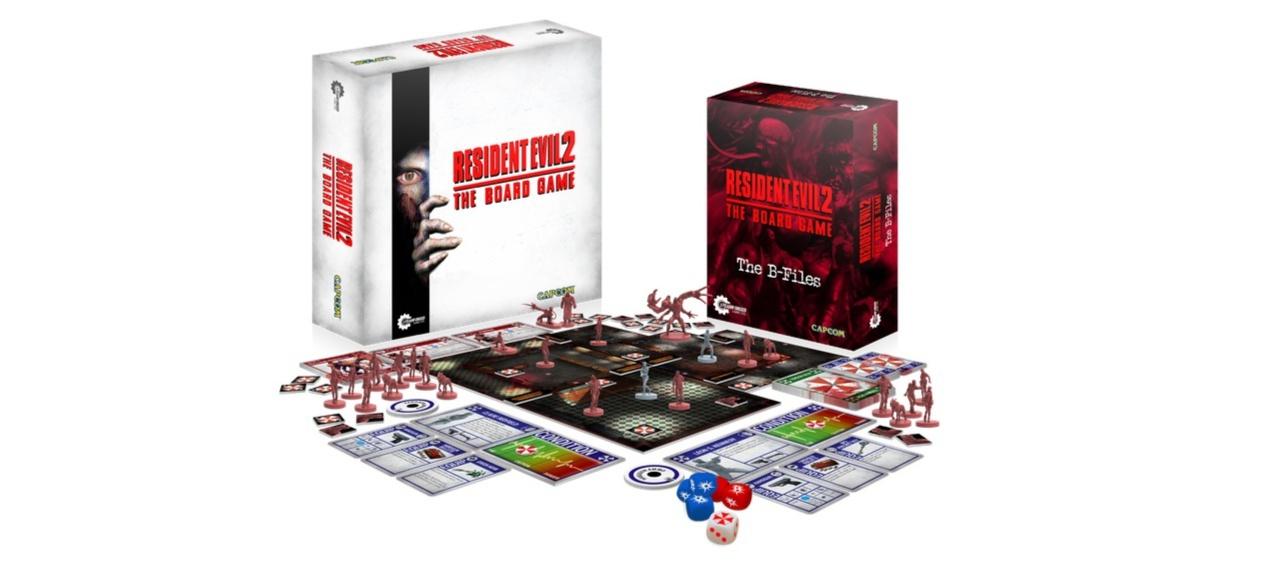 Resident Evil 2: The Board Game (Brettspiel) von