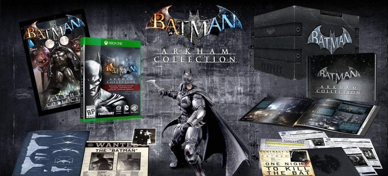 Batman Arkham HD Collection (Action) von Warner Bros.