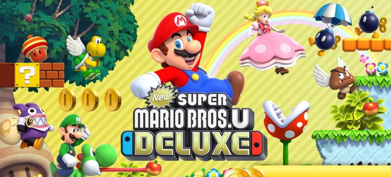 New Super Mario Bros. U (Plattformer) von Nintendo