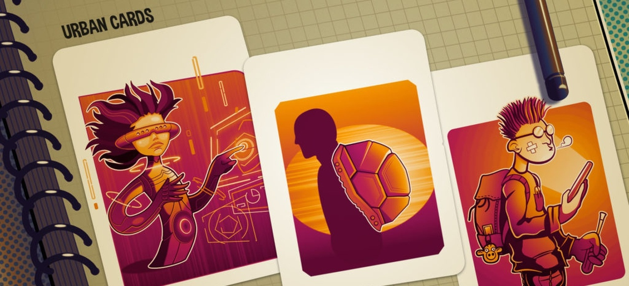 Urban Cards (Taktik & Strategie) von Hues Games