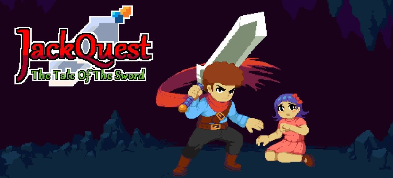 JackQuest: The Tale of the Sword (Plattformer) von Blowfish Studios / Crescent Moon Games