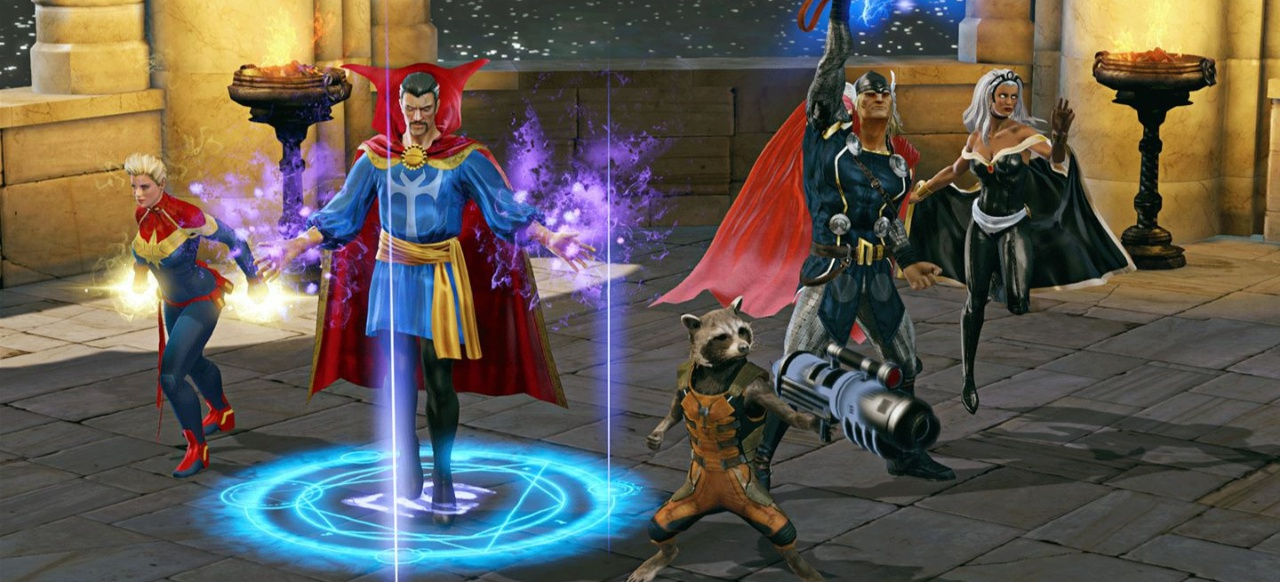 Marvel Heroes Omega (Rollenspiel) von Gazillion Entertainment