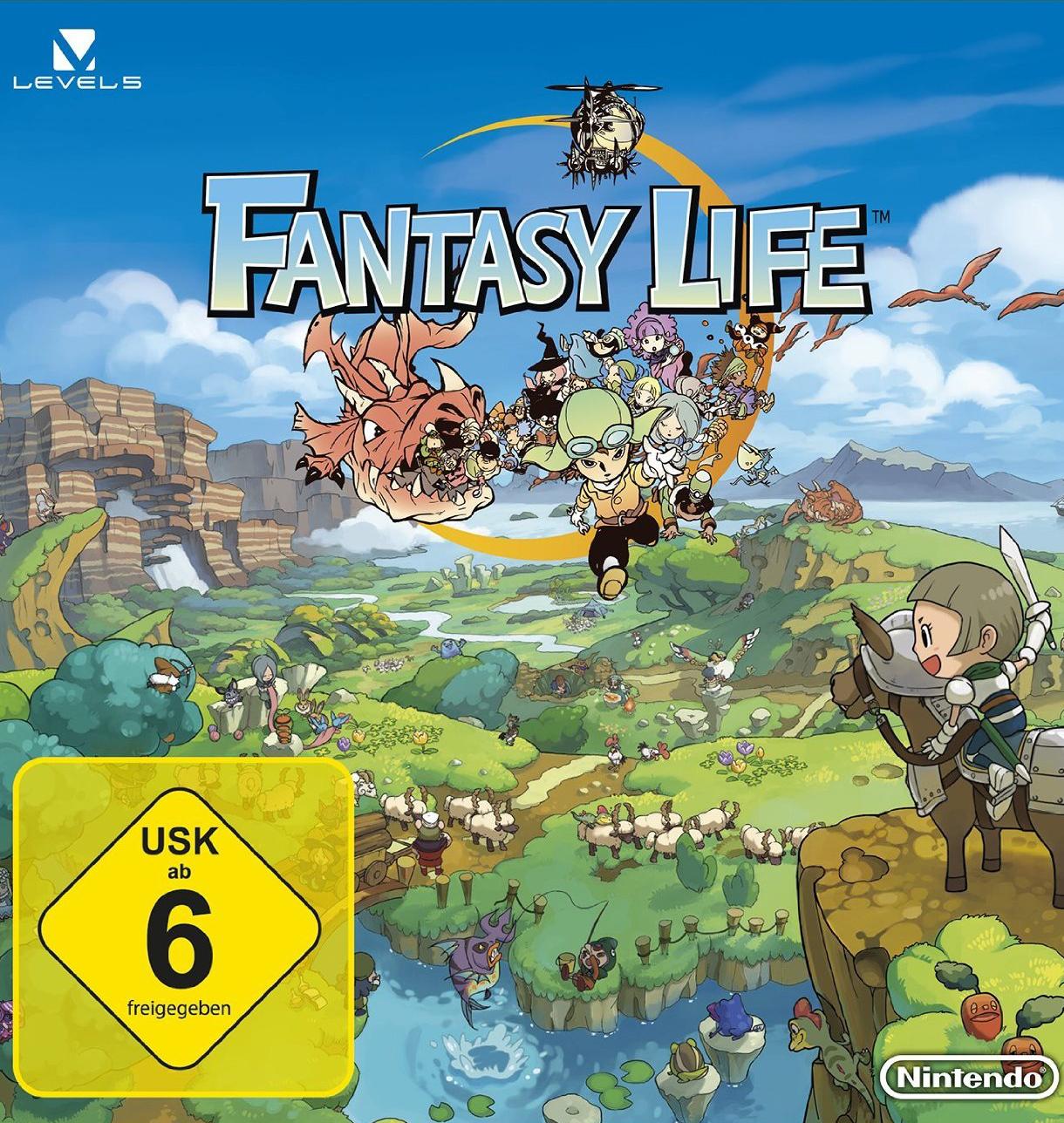 Alle Infos zu Fantasy Life (3DS)