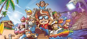 Charmantes Abenteuer im Minecraft-Stil