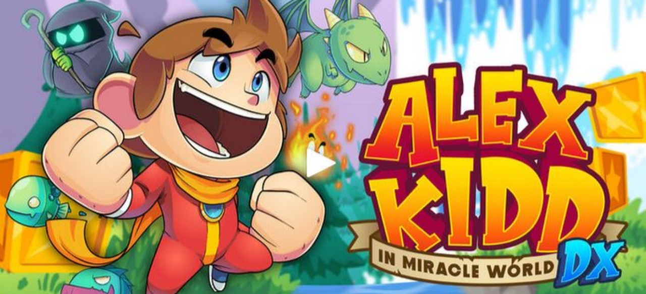 Alex Kidd in Miracle World DX (Plattformer) von Merge Games
