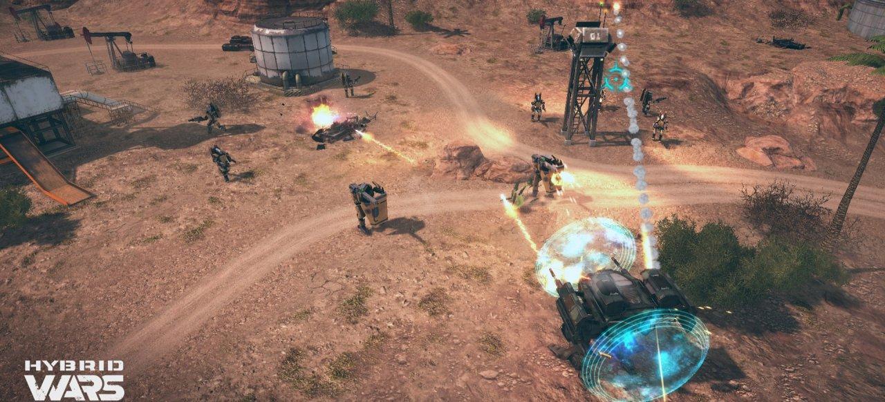 Hybrid Wars (Arcade-Action) von WG Labs