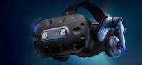 HTC Vive Pro 2: VR-Headset mit 5K-Auflösung angekündigt; Hardware-Partner bringt Augentracking-Modul