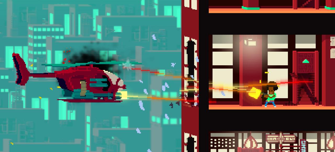 Not A Hero (Arcade-Action) von Devolver Digital