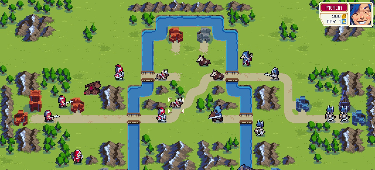 Wargroove (Strategie) von Chucklefish