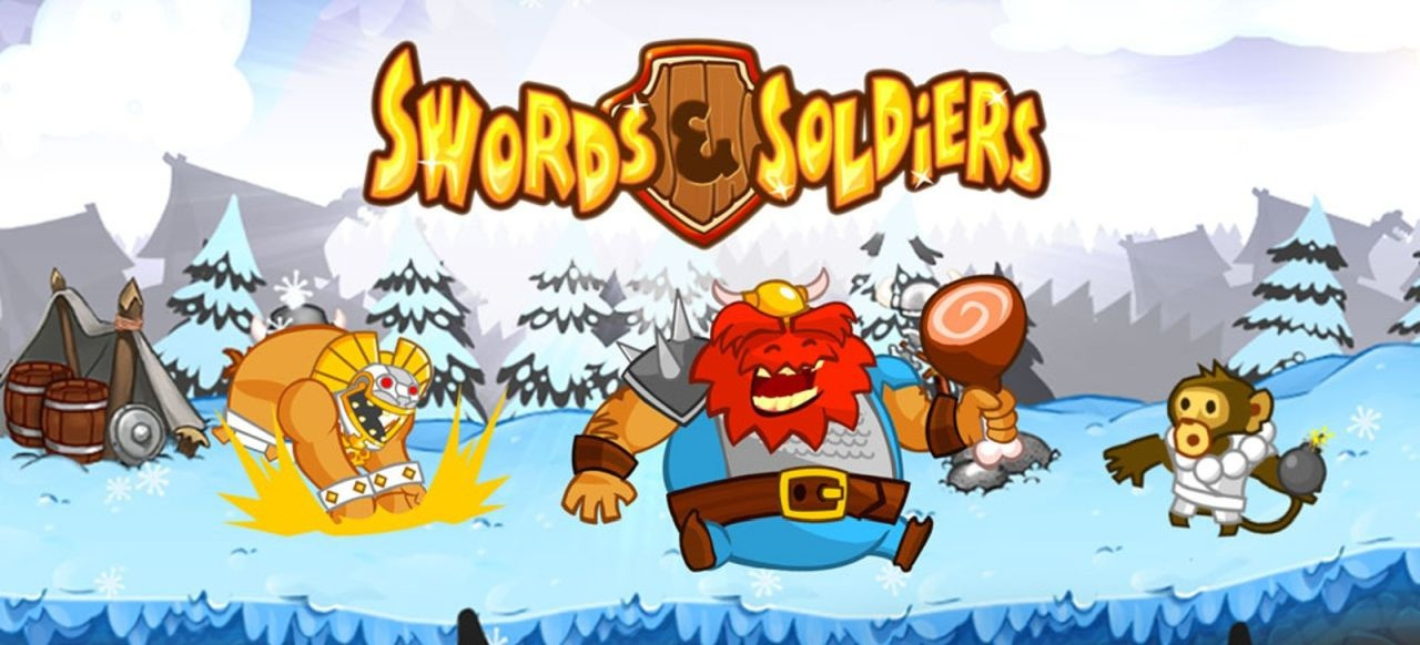 Swords & Soldiers (Taktik & Strategie) von Ronimo Games / Daedalic / Chillingo / Two Tribes