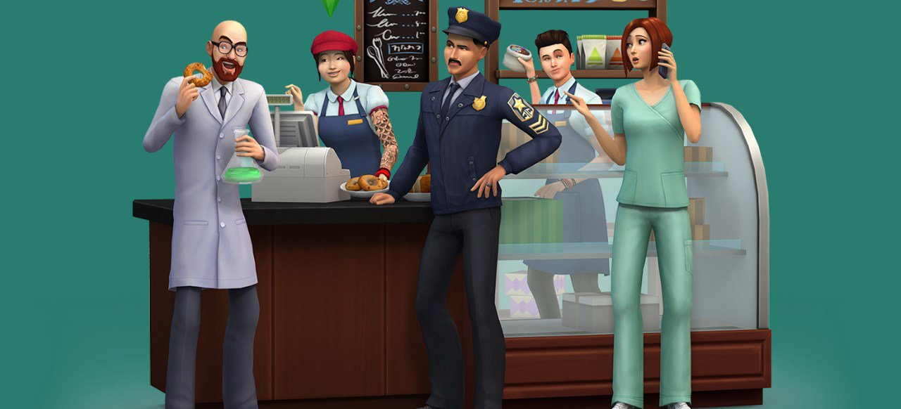 Die Sims 4: An die Arbeit (Simulation) von EA