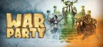 Warparty: Echtzeit-Strategie in der Steinzeit mit Dinosauriern für PC, PS4, Switch und Xbox One