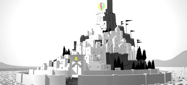 The Unfinished Swan (Plattformer) von Sony