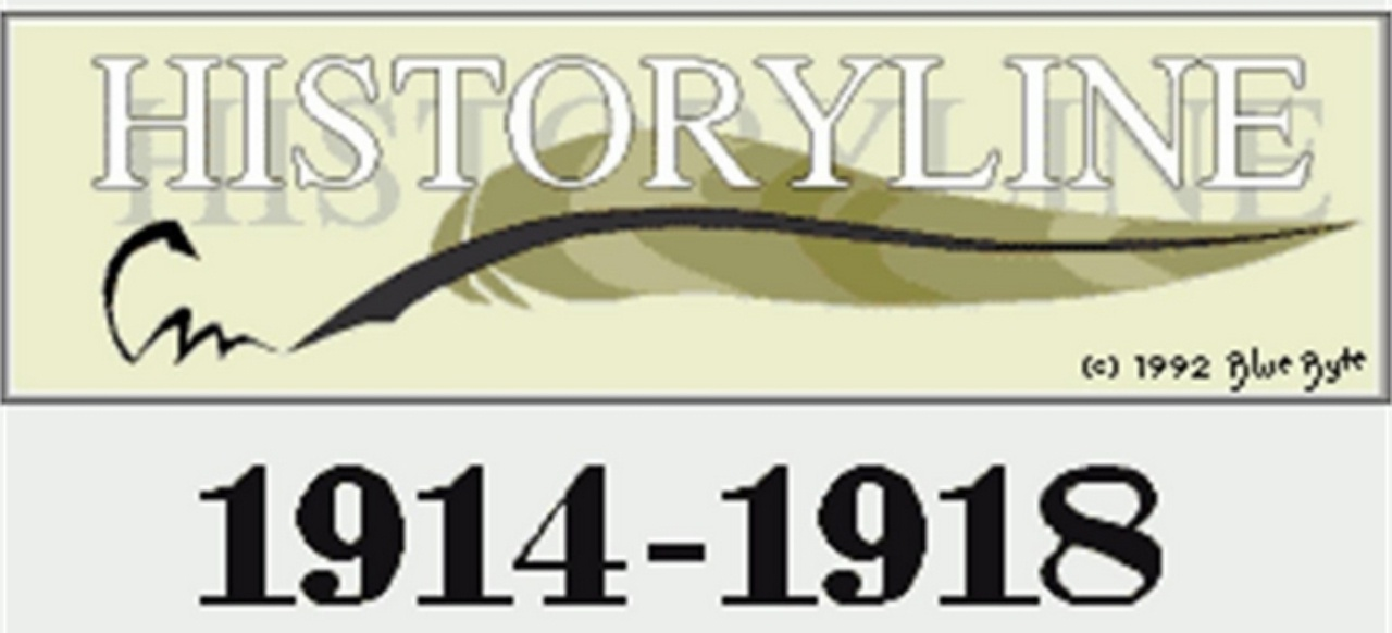 History Line: 1914 - 1918 (Taktik & Strategie) von Blue Byte
