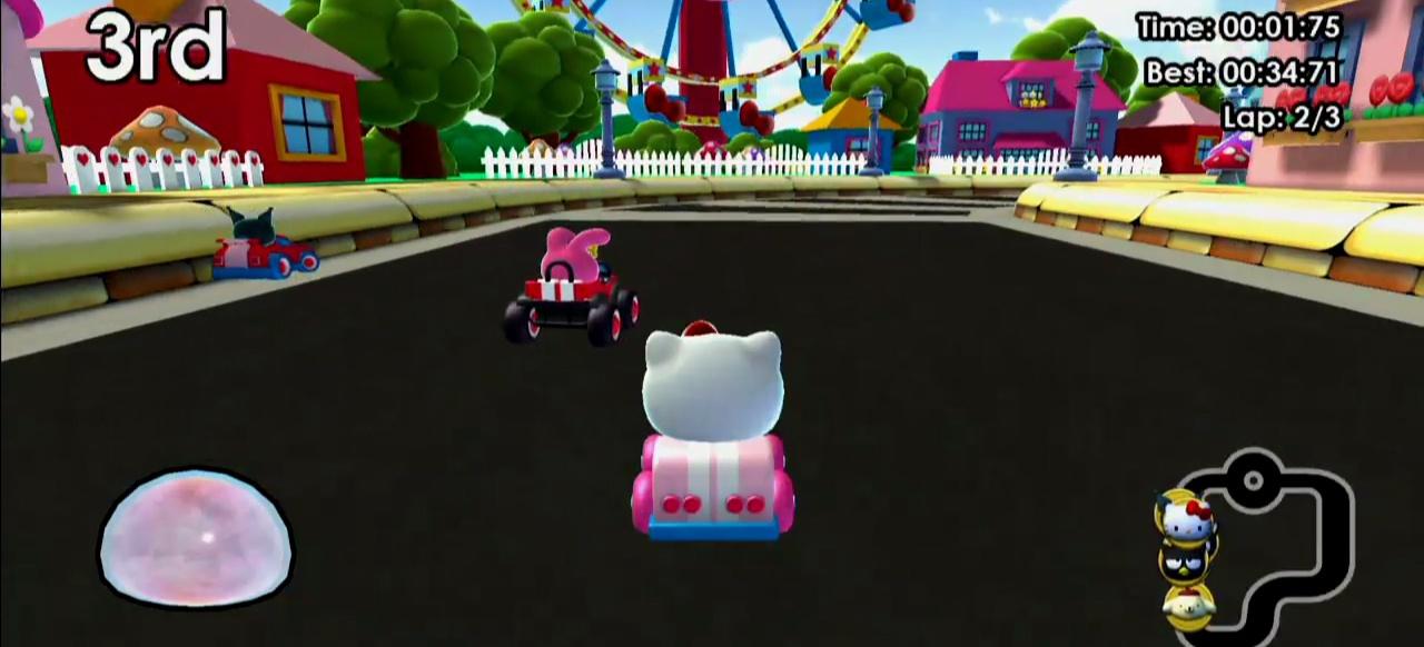 Hello Kitty Kruisers (Rennspiel) von Rising Star Games / Crescent