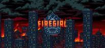 Firegirl: Mit Axt und Hochdruck-Feuerwehrschlauch: Feuriger Action-Plattformer erscheint im Herbst