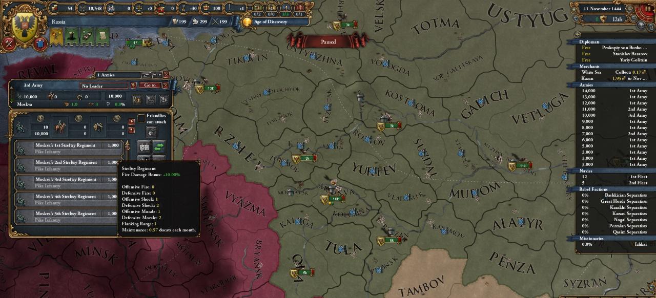 Europa Universalis 4: Third Rome (Taktik & Strategie) von Paradox Interactive