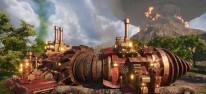 Volcanoids: Bis zu vier Spieler im Drillship: Koop-Update veröffentlicht