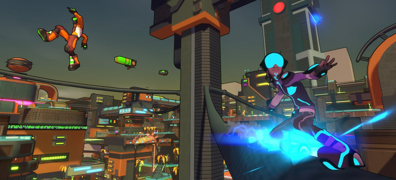 Hover: Revolt of Gamers (Plattformer) von The Sidekicks, Plug In Digital
