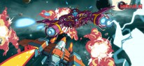 Rival Megagun: Kompetitive Splitscreen-Ballerei auf PC, PS4, Xbox One und Switch abgehoben