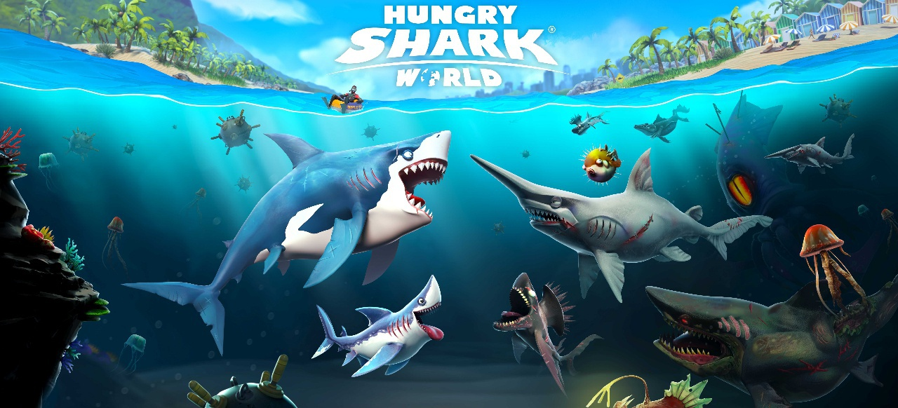 Hungry Shark World (Arcade-Action) von Ubisoft