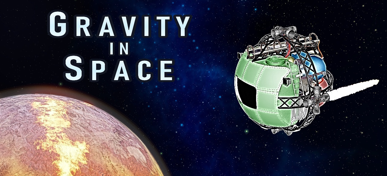 Gravity in Space (Simulation) von Cross and Dot Products