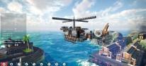 Sea of Craft: Sea of Thieves trifft Kerbal Space Program und Online-Kämpfe