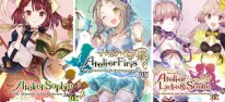 Atelier Mysterious Trilogy Deluxe Pack: Alchemisten-Trio für PS4, Switch und PC erschienen