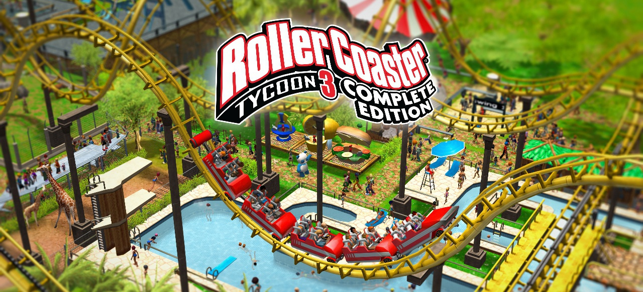 RollerCoaster Tycoon 3: Complete Edition (Simulation) von Frontier Foundry