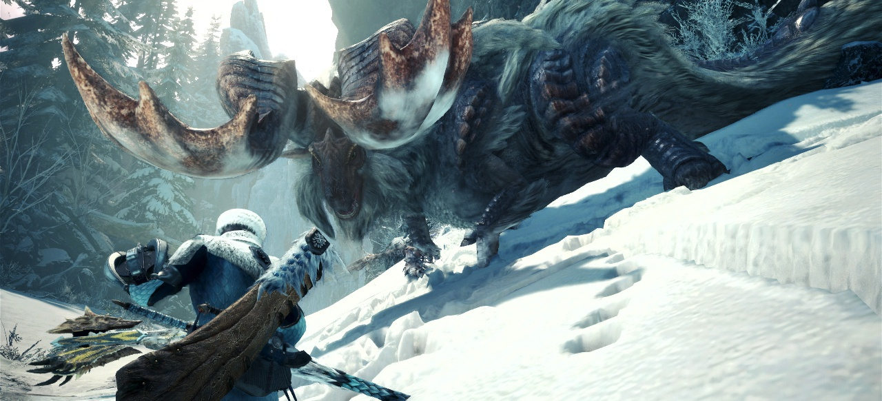 Monster Hunter: World - Iceborne: Kooperationsquest mit Resident Evil 2