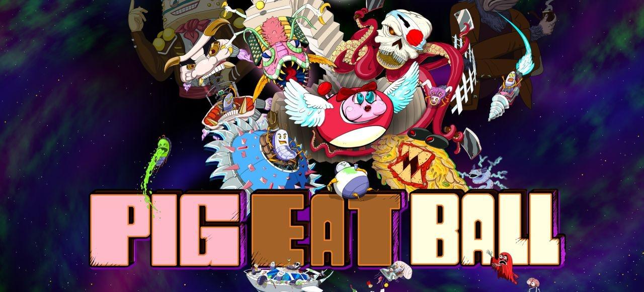 Pig Eat Ball: Skurriler Pac-Man-Verschnitt stillt seinen Kohldampf auch auf PS4, Switch und Xbox One