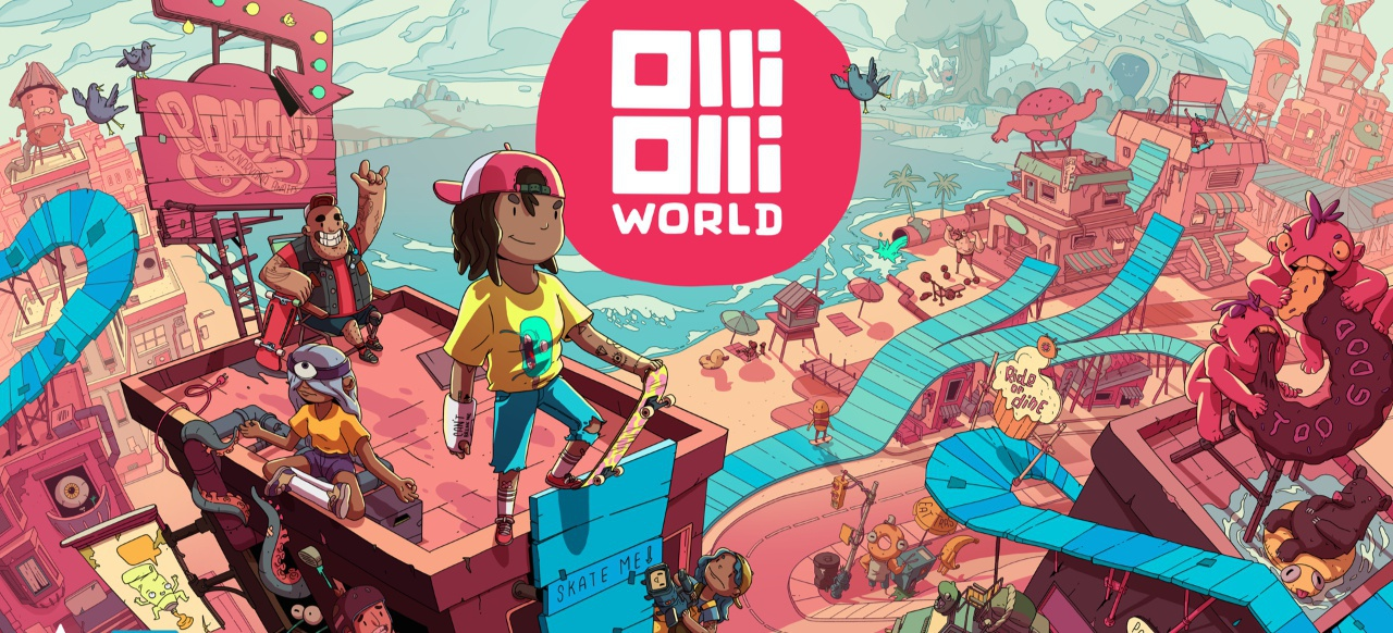 OlliOlli World (Taktik & Strategie) von Private Division