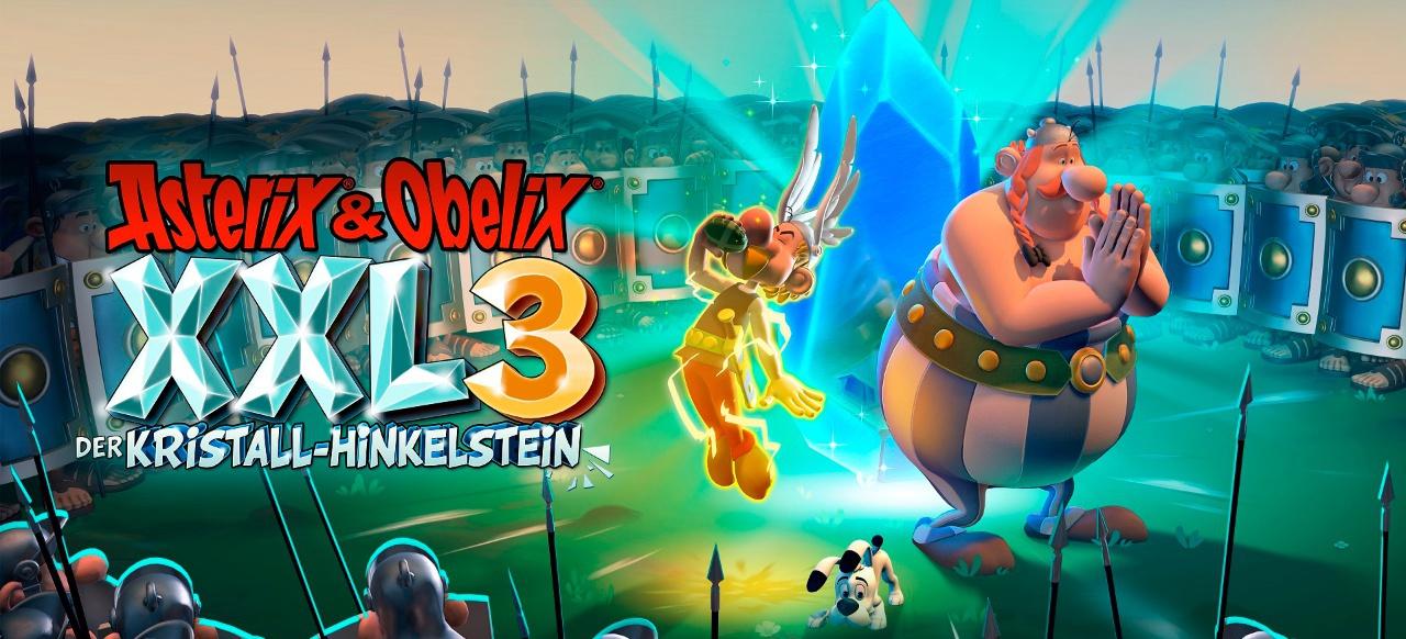 Asterix & Obelix XXL 3: Der Kristall-Hinkelstein (Action-Adventure) von Microids, astragon