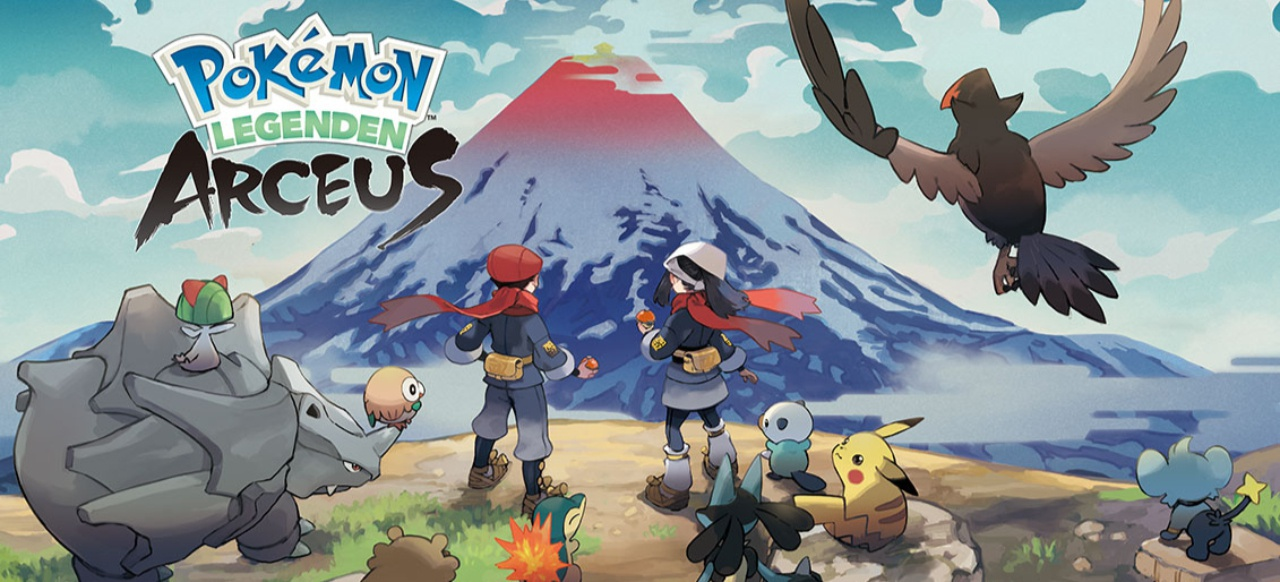 Pokémon-Legenden: Arceus (Rollenspiel) von The Pokémon Company International und Nintendo