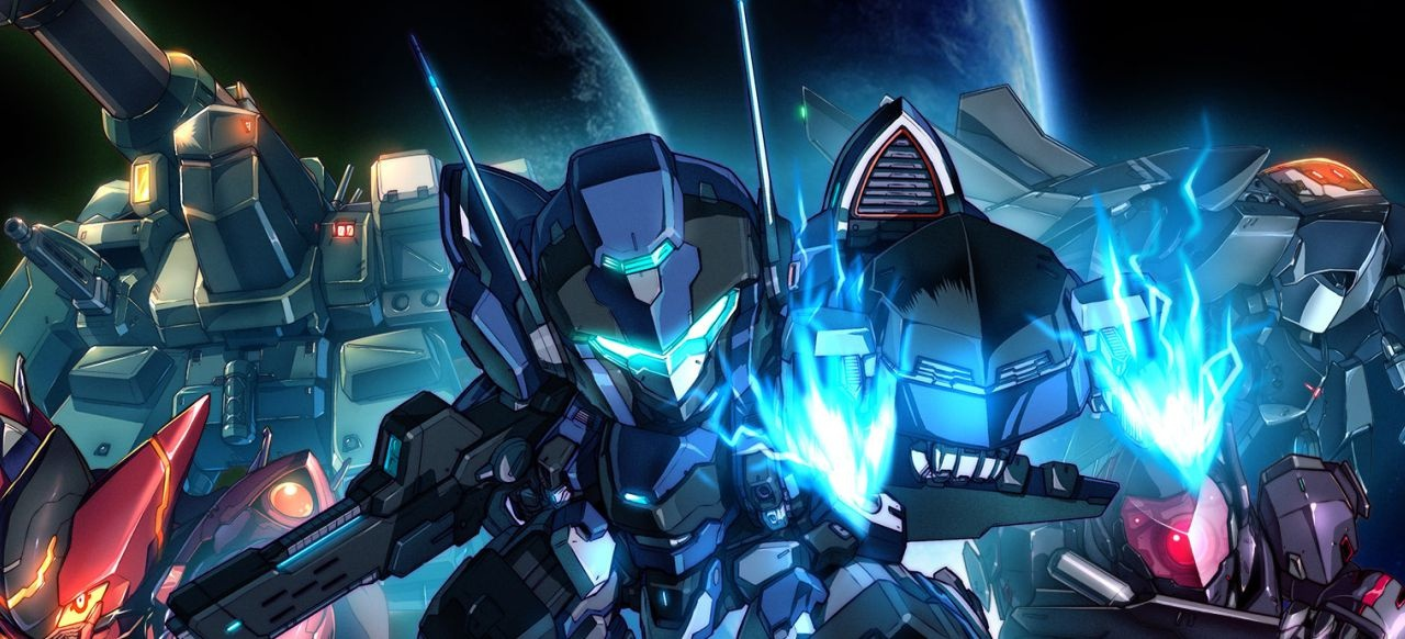 Hardcore Mecha (Arcade-Action) von RocketPunch Games / Arc System Works / Lightning Games