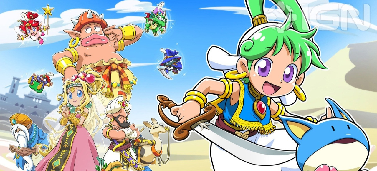 Wonder Boy: Asha in Monster World (Plattformer) von ININ Games