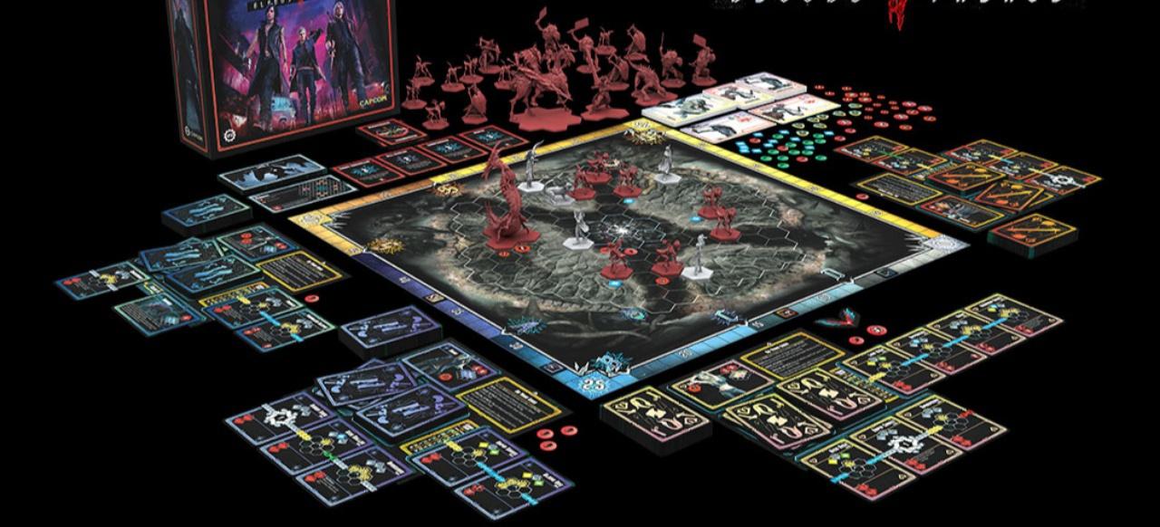 Devil May Cry: The Bloody Palace: Kickstarter fürs Brettspiel startet im Frühjahr