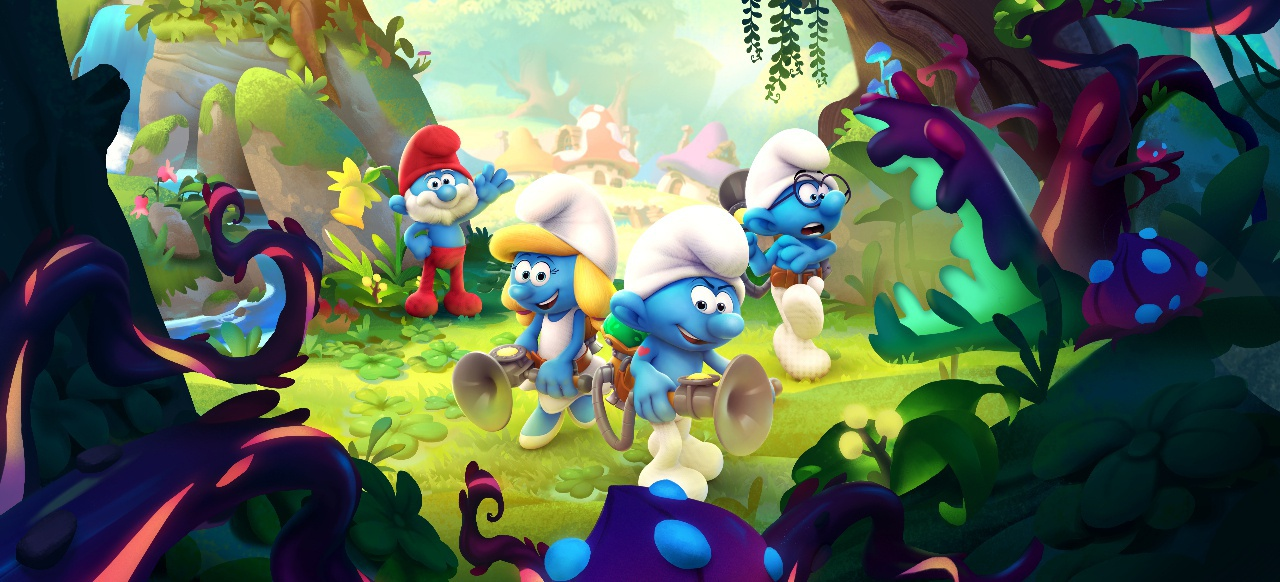 The Smurfs (Action-Adventure) von Microids