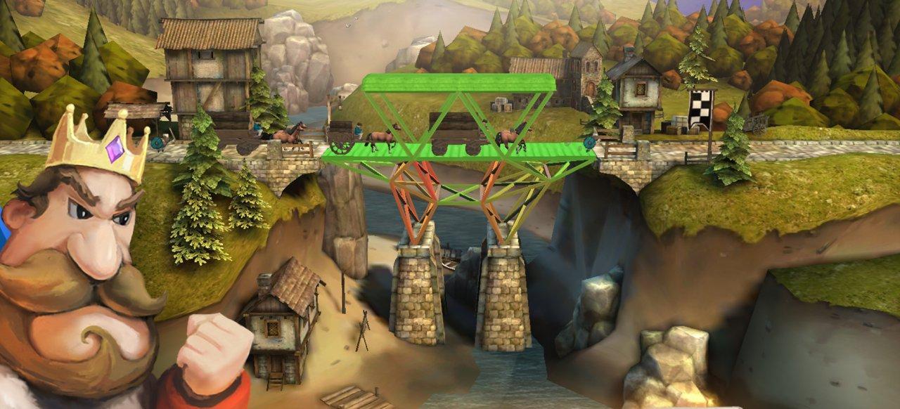 Bridge Constructor Mittelalter (Logik & Kreativität) von Headup Games