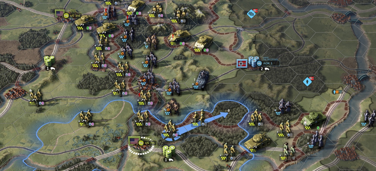 Unity of Command 2 (Strategie) von 2x2 Games