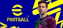 eFootball 2022: Free-to-play-Fußballsimulation gestartet; kaum Inhalte verfügbar; äußerst negative Steam-Reviews