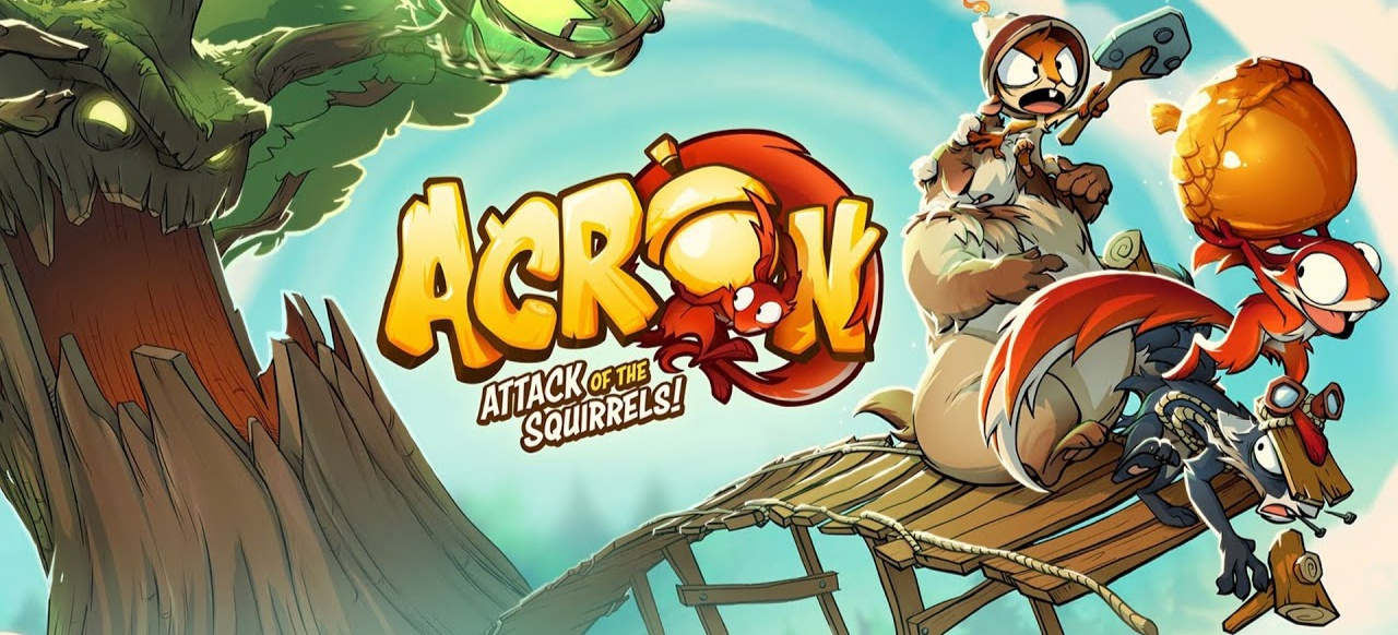 Acron: Attack of the Squirrels! (Geschicklichkeit) von Resolution Games
