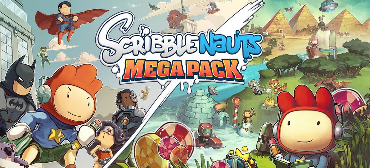 Scribblenauts Mega-Pack (Logik & Kreativität) von Warner Bros. Interactive Entertainment