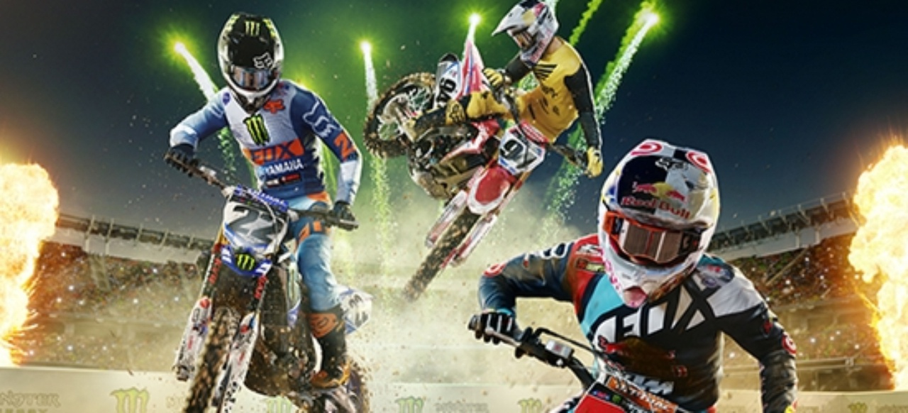 Monster Energy Supercross - The Official Videogame (Rennspiel) von Bigben Interactive